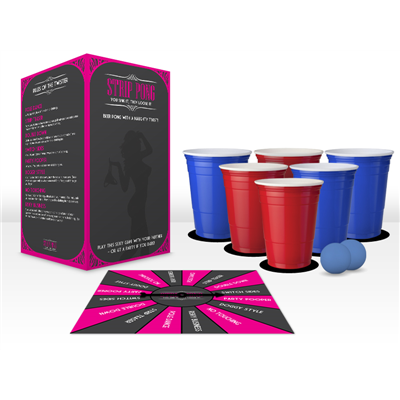 Strip Beer Pong Set