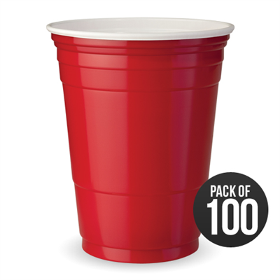 100 American Style Red Solo Cups