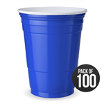 100 American Style Blue Solo Cups